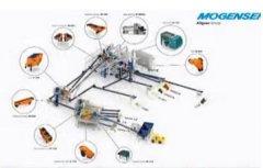 玻璃回收生产线的图片