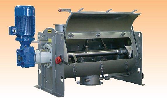 锂电用犁刀式混合机图片