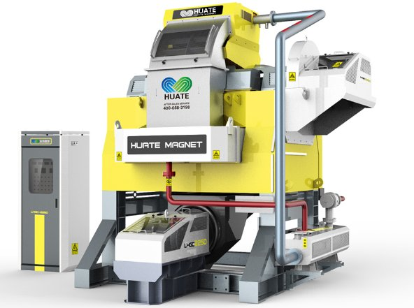 LHGC节能环保强制油冷却立环高梯度磁选机的图片