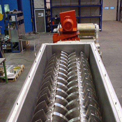 空心桨叶干燥机,城市污泥 化工污泥桨叶专用干燥机的图片