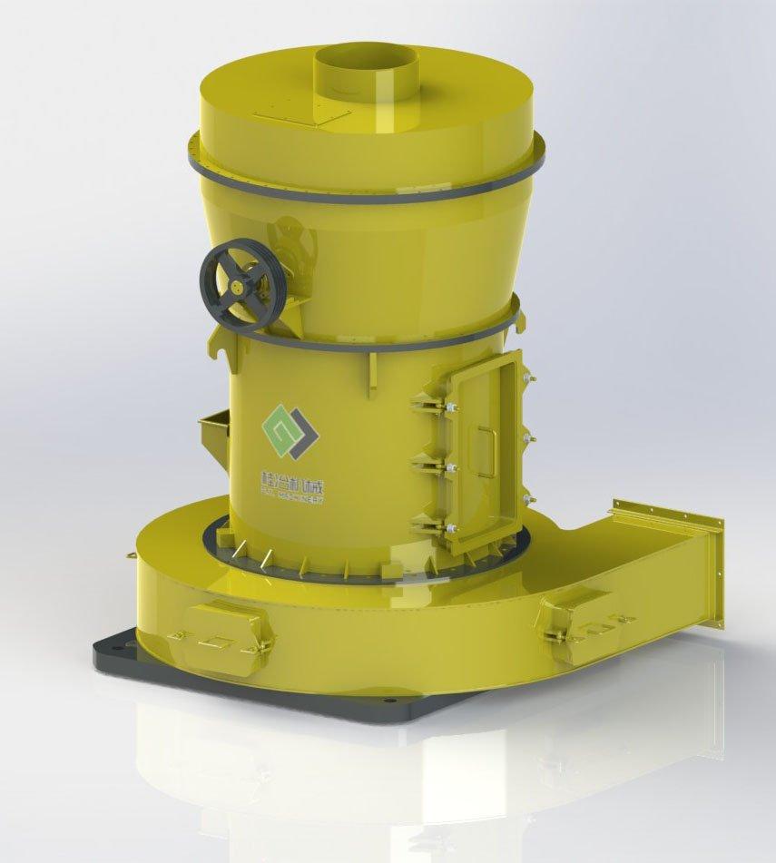 4R3216保守值400-700小時雷蒙磨粉機 高產量設備的圖片