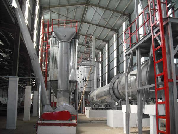 高產量石膏生產線成套設備的圖片