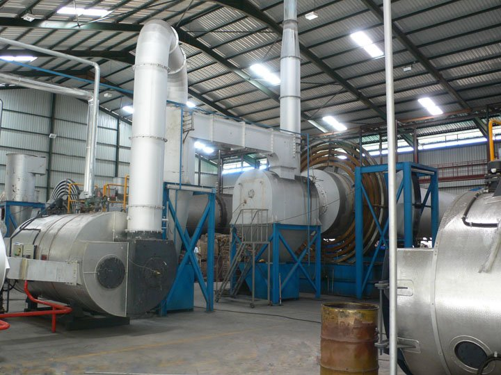 高產量工業活性炭生產線成套設備的圖片