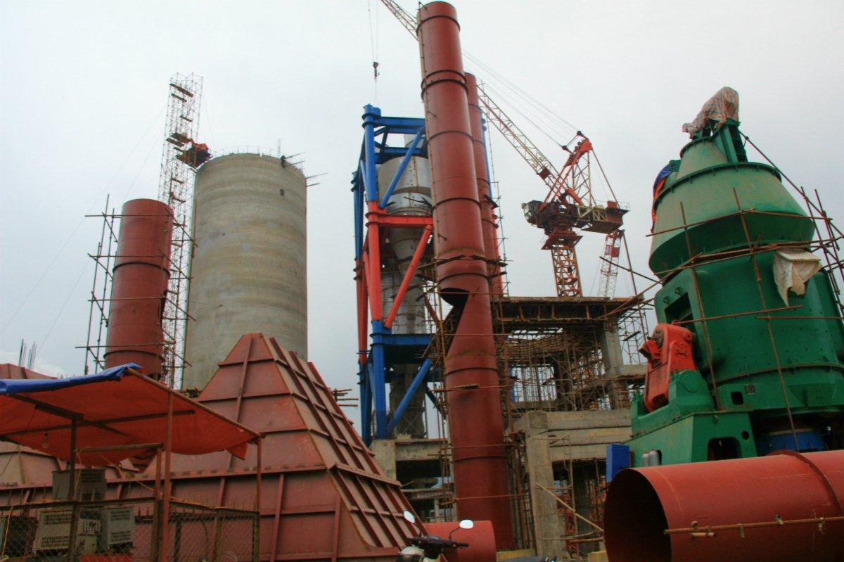 全套水泥生產線設備 出口國外的圖片
