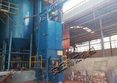 钙粉专用拆包设备,钙粉吨袋拆包机的图片