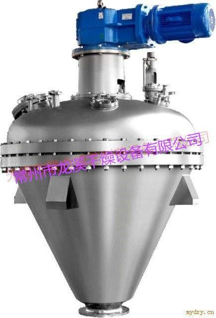 单锥螺带真空干燥机   医药粉体  化工粉体混合烘干一体机   单锥真空干燥机的图片