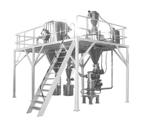 惰性气体保护气流粉碎机(安全防爆型)的图片