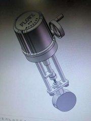 电动针型高压调节阀双相钢 2205应用于海水淡化的图片