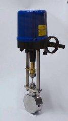 高压伺服电机控制阀针型阀浓水调节阀的图片