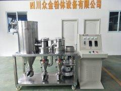 實驗室用氣流分級機、高精分級機的圖片