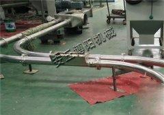 石墨粉管链输送机、焦炭粉管链输送设备有效防尘的图片