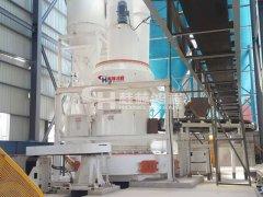 河北鸿程雷蒙磨粉机HC1700大型叶腊石雷磨机粉碎设备的图片