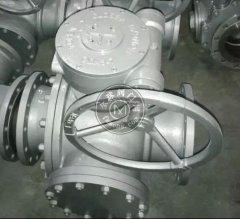 Q345F T型鑄鋼三通球閥