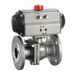 JL600-Q3 ANSI气动球阀的图片