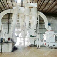 鴻程細粉粉碎設備HCQ1500節能雷蒙磨石灰石磨粉機的圖片