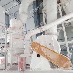 桂林鸿程矿石磨粉机HC1700大型石灰石雷蒙磨的图片