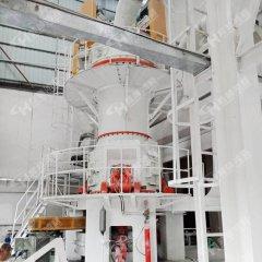 HLMX1100鸿程大型立磨生石膏超细粉立式磨粉机工业用滑石立磨机