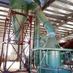 矿石破碎机磨粉机整套生产线小型石料雷蒙磨粉机的图片