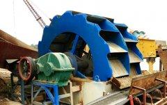 洗砂机 每小时200吨清洗山沙机制砂的洗砂机的图片