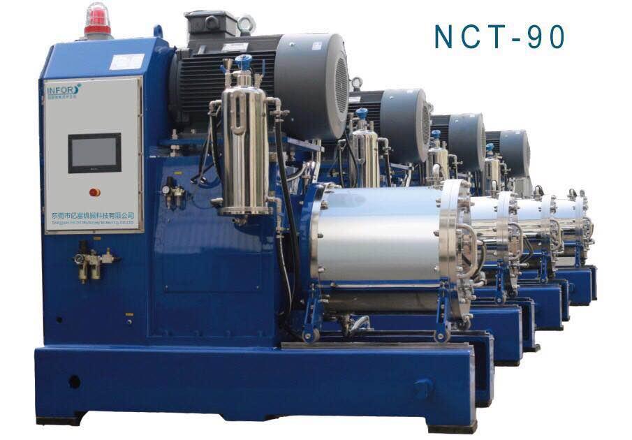 涡轮纳米砂磨机的图片