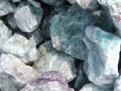 高品位萤石块矿
