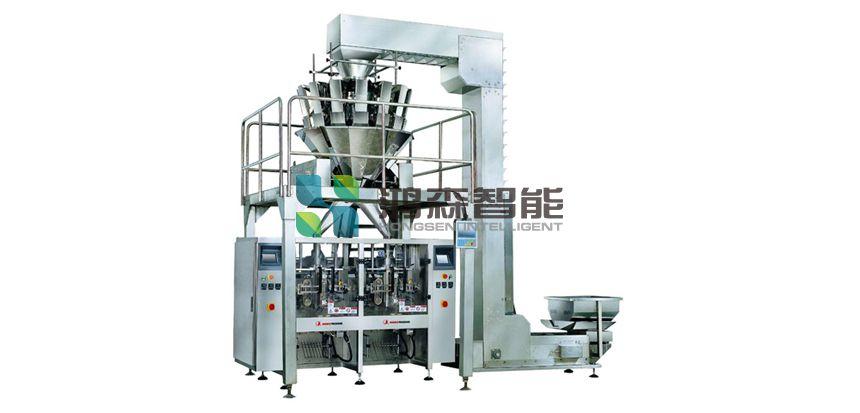 立式小包装机生产线的图片