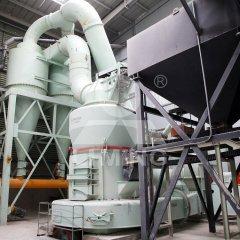 碳酸钙磨粉设备生产线 环保磨粉线 生产方解石石粉的设备的图片