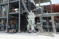 重晶石生产设备 立式粉磨机 方解石和石灰石生产线的图片