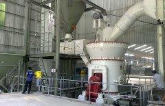 常州石膏磨粉设备 年产20万吨石灰石设备的图片