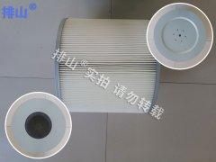 Φ350x170x320高清扫车粉尘滤筒的图片