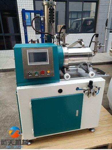 涡轮纳米卧式砂磨机的图片