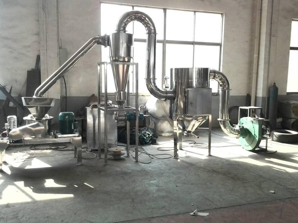 WFJ系列超微粉碎机   气流式粉碎机的图片
