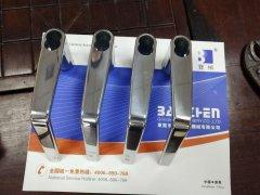 湖北省把手干式溜光机设备/拉手环保型滚桶溜光机