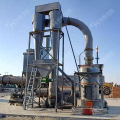 小型礦石磨粉機 4R雷蒙機 粉磨重晶石機器設備 環保無塵的圖片