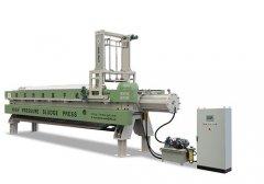 高压污泥压干机(鼓膜压力100公斤)的图片