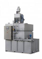 全自动三厢/两厢絮凝剂制备装置的图片