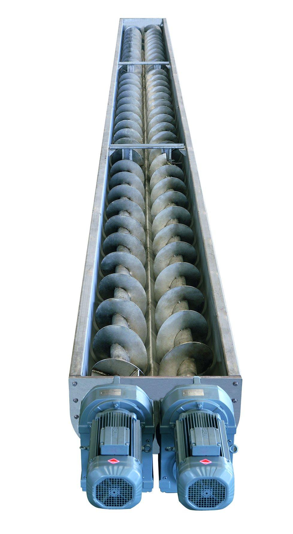 景津双驱螺旋输送机的图片