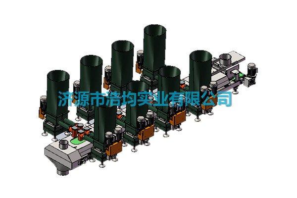 双螺杆减重式自动配料系统的图片
