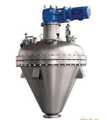 双螺旋混合机   立式锥形混合机的图片