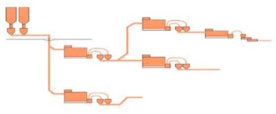 井下长距离气力输送系统的图片