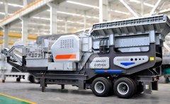 轮胎式移动站设备 建筑垃圾处理设备的图片
