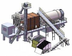 朗士达湿砂烘干系统的图片