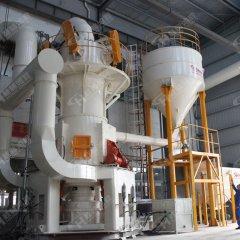 立式磨粉机石头打粉设备 石灰石超细磨粉机 三辊超细立式磨粉机的图片
