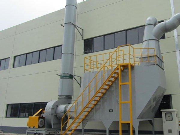 高活性炭吸附塔的图片