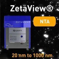 PMX納米顆粒追蹤分析儀ZetaView QUATT