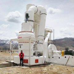 微粉磨机500目白云石粉雷蒙磨生产线的图片