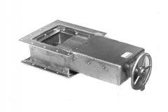 铝制插板阀