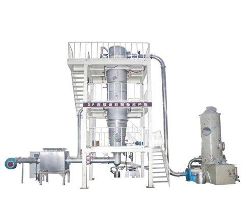 DF连续造粒制备生产的图片