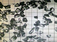 绿碳化硅微粉 1200#颗粒形状