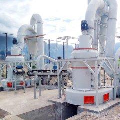 伊利石雷蒙磨生產線國產梯形磨粉機的圖片